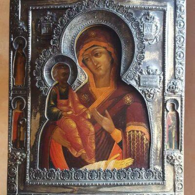 icona della madre di dio argento-jpeg