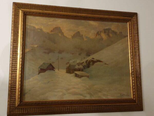 Igino Gatti, Passo Sella 1934.