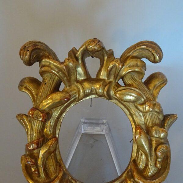 Cornice in legno dorato inizio XIX secolo-1