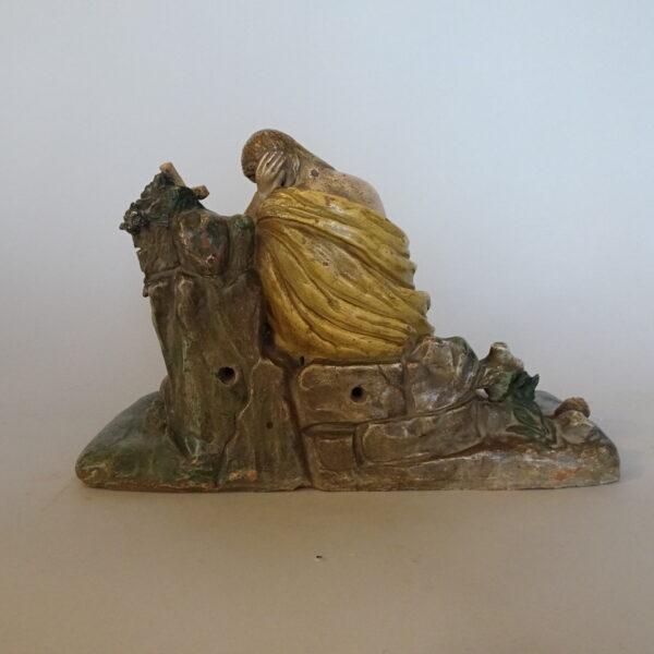 scultura in terracotta policroma-2