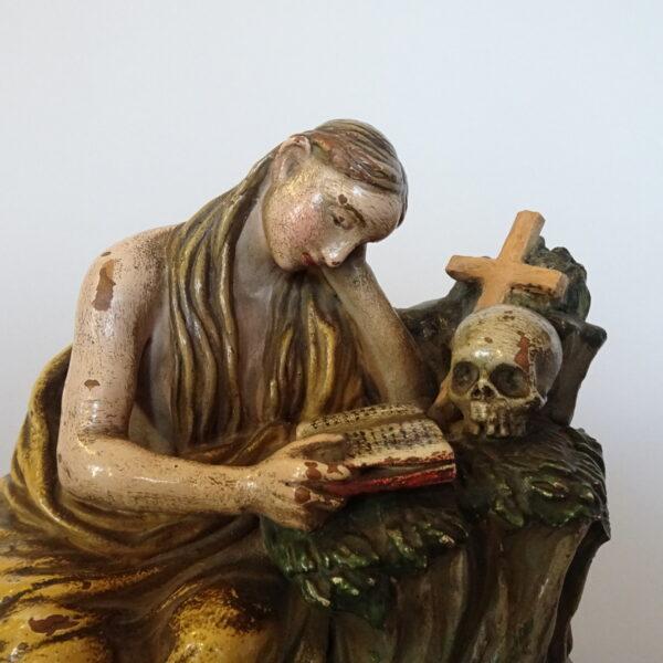 scultura in terracotta policroma-1