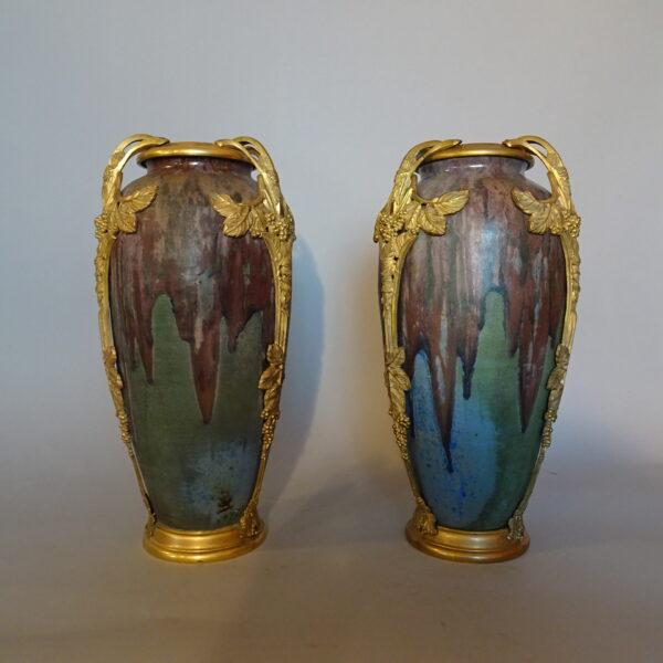coppia di vasi francesi primi anni XX sec -1