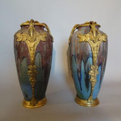 coppia di vasi francesi primi anni XX sec