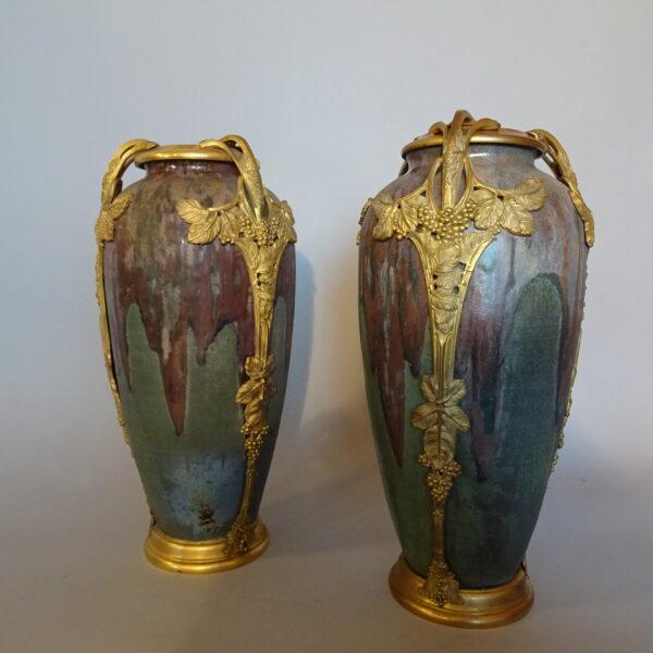 coppia di vasi francesi primi anni XX sec-2