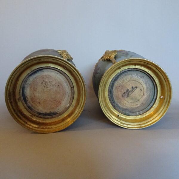 coppia di vasi francesi primi anni XX sec -3