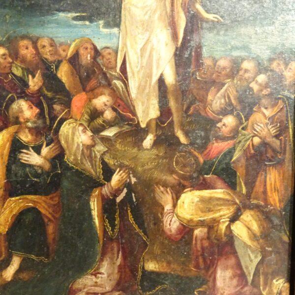 censione di Gesù olio su rame XVII sec.-2