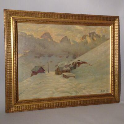 Igino Gatti Passo Sella 1934