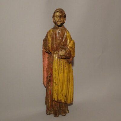 Profeta scultura lignea policroma XVI secolo