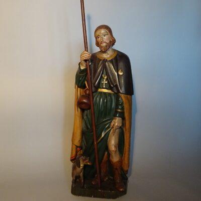 Scultura lignea policroma di San Rocco