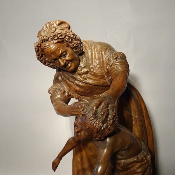 Terracotta You dirty boy di Giovanni Focardi-1
