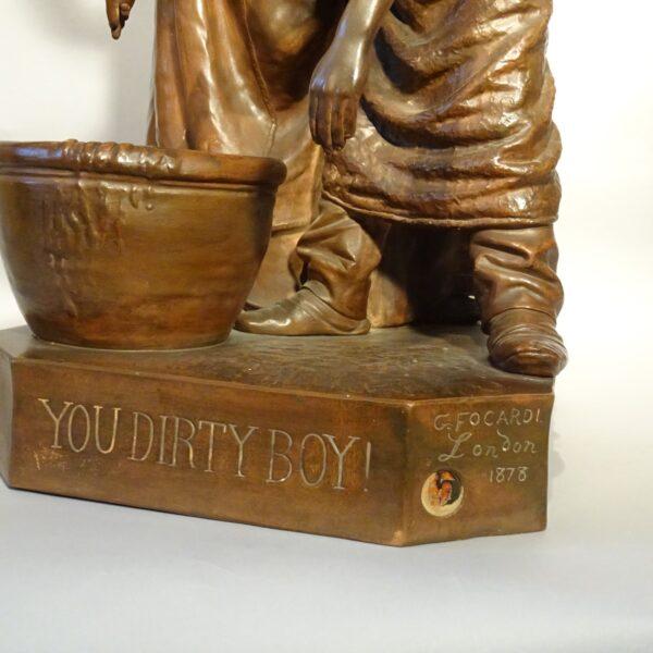 Terracotta You dirty boy di Giovanni Focardi-3