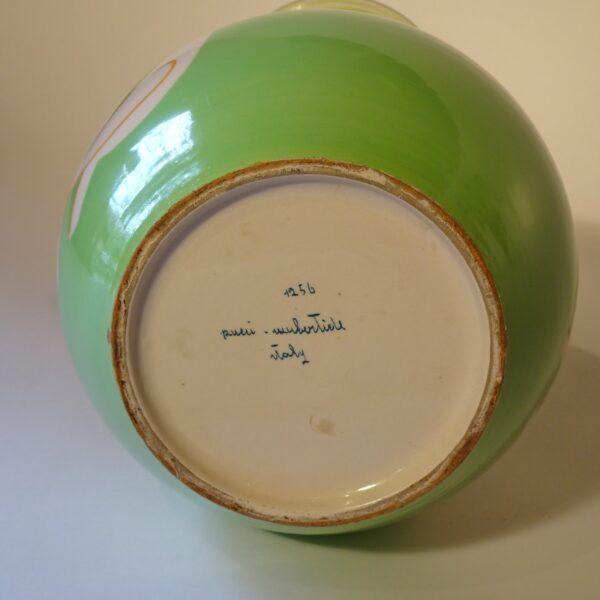 Vaso in ceramica Pucci Umbertide pima metà XX sec-3