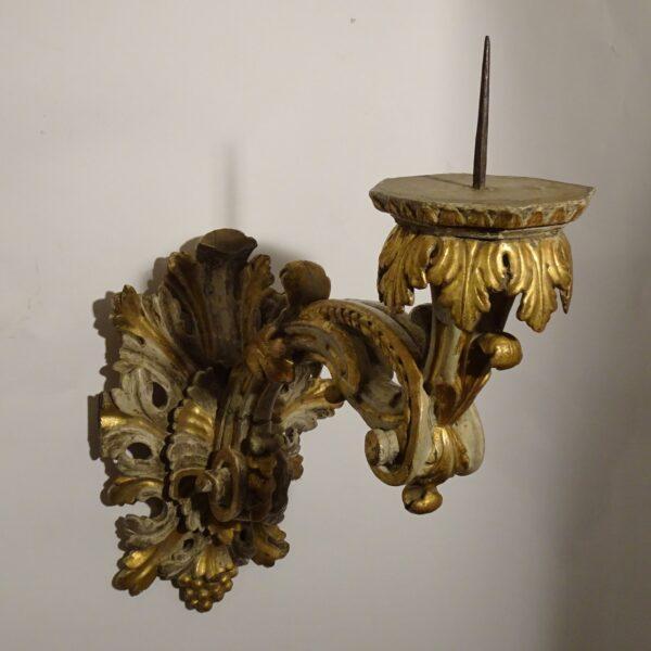 cio in legno laccato e dorato XVIII sec-3