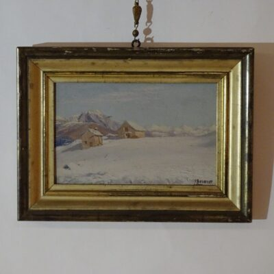 Camillo Besana Neve in Val Vigezzo