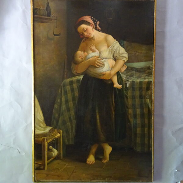 a lattante attr. a Cletofonte Preti XIX secolo-2
