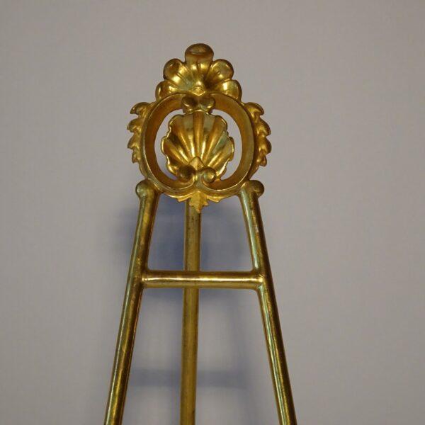 Portafotografie in legno dorato XIX secolo-1