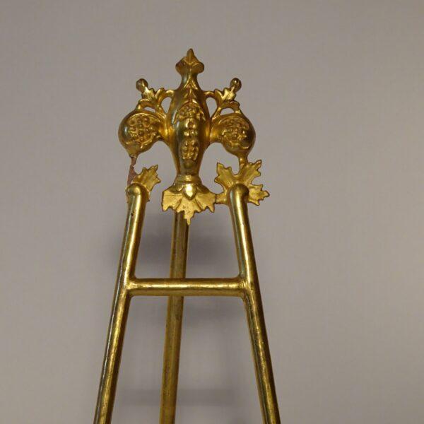 Portafotografie in legno dorato XIX secolo-2