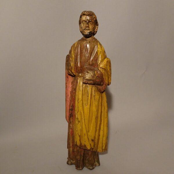 Profeta scultura lignea policroma XVI secolo-2