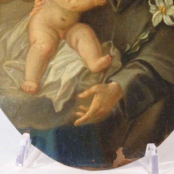 S.Antonio con il Bambino XVIII secolo-2