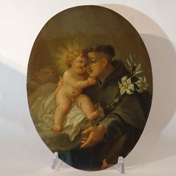 Sant'Antonio con il Bambino XVIII secolo