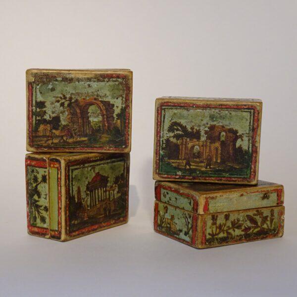 Scatola da gioco arte povera XVIII secolo-2