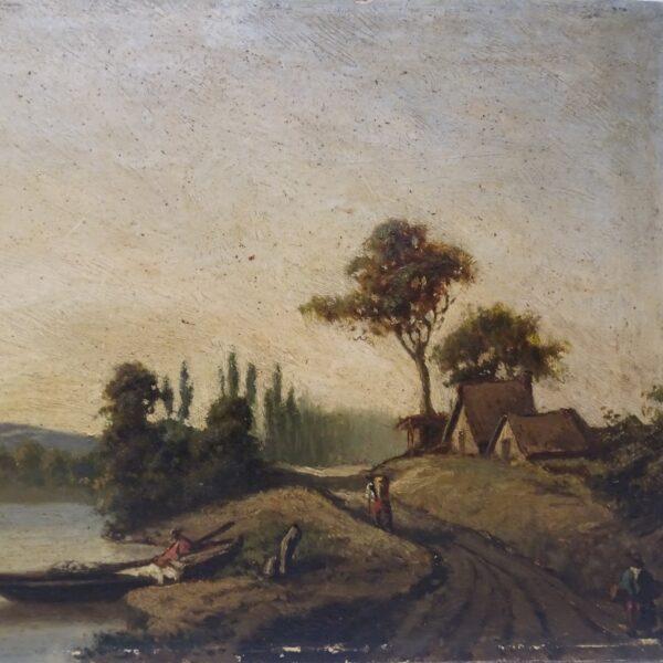 Edoardo Raimondi Sulle rive del Po-1